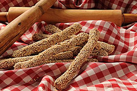 Κριτσινια Ολικής άλεσης-Breadsticks with whole meal flour