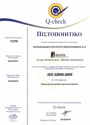 Πιστοποίηση ποιότητας προϊόντων
